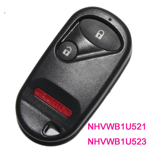 Honda 2 1 Button Remote Control Fcc Id Nhvwb1u521